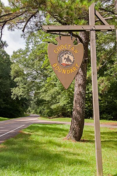 Choctaw Boundary, Natchez Trace Parkway, Mississippi