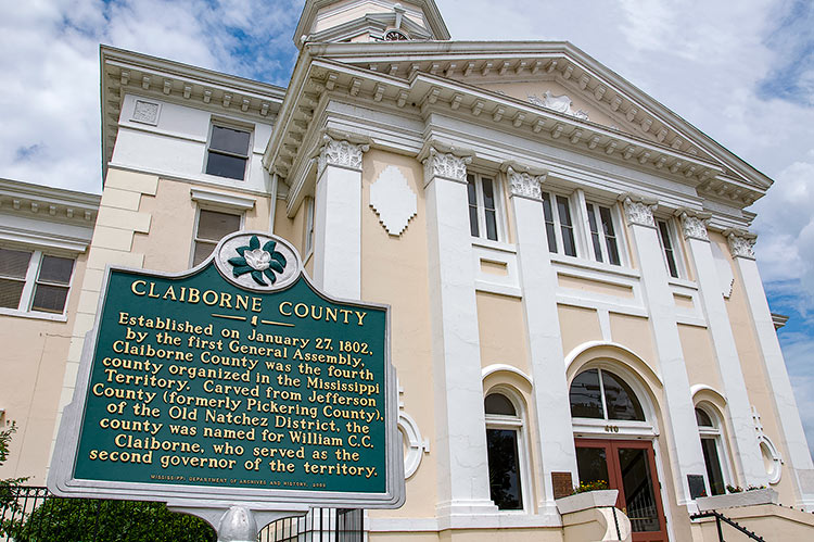 Port Gibson, Claiborne County Courthouse