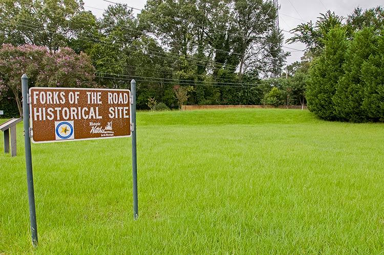 Forks of the Road, Natchez
