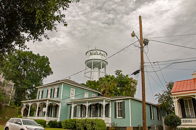 Natchez On-Top-of-the-Hill Historic District