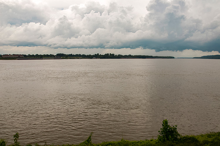 Mississippi river, Natchez