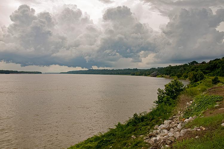 Mississippi River, Natchez, Mississippi