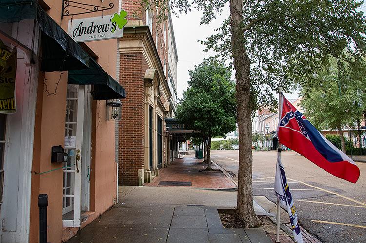 Andrew's, Historic District, Natchez, Mississippi