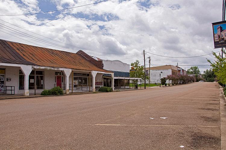 Market Street, Port Gibson, Mississippi