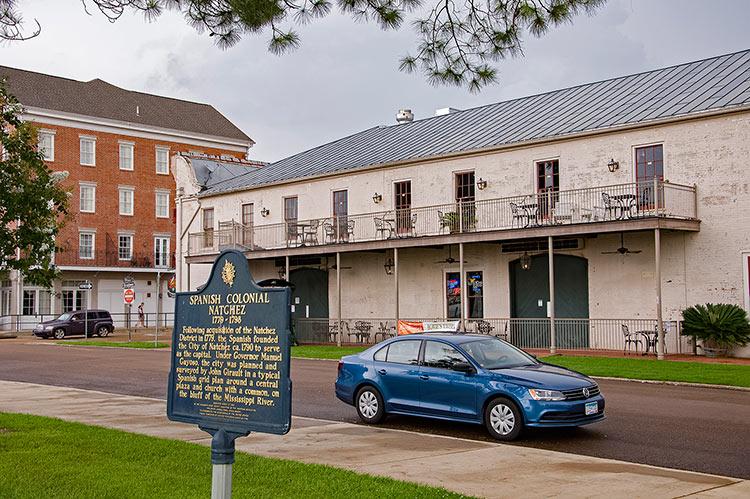 Spanish Colonial Natchez, Mississippi