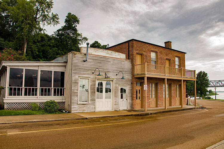 The Blue Cat, Under-the-Hill Historic District, Natchez, Mississippi