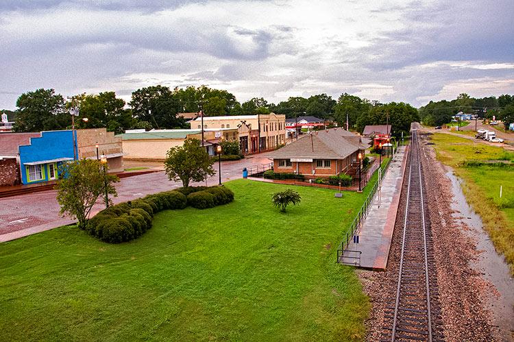 Hazlehurst station, Mississippi