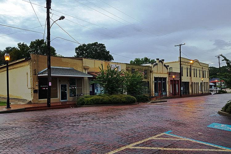 Hazlehurst, historic district
