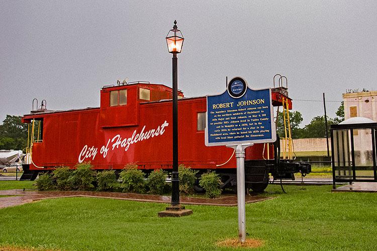 Robert Johnson marker, Hazlehurst, Mississippi