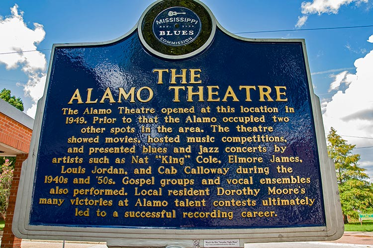 Alamo Theatre blues marker, Farish Street