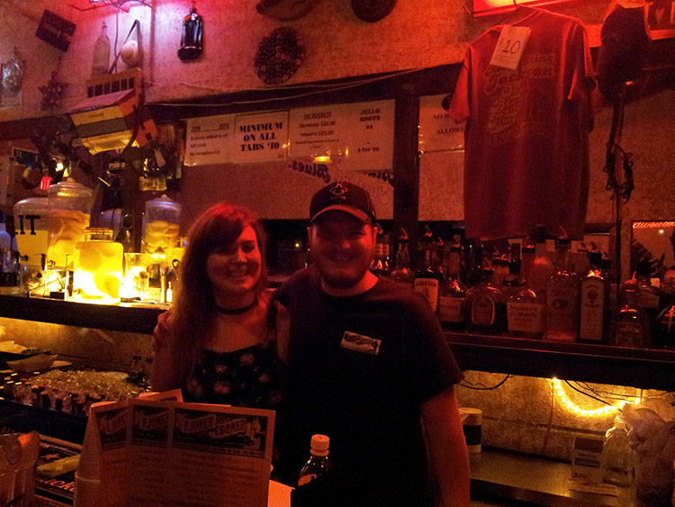 F Jones Corner's bartenders