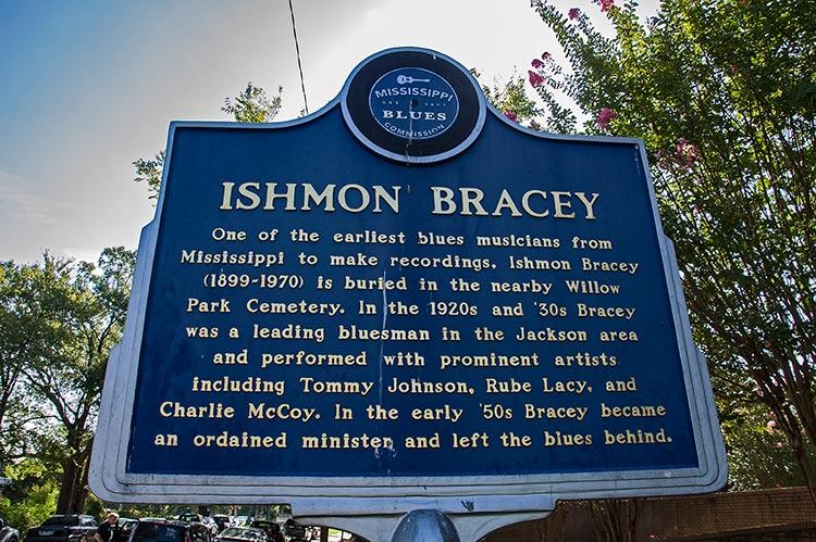 Ishmon Bracey blues marker