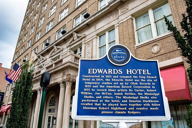 King Edward Hotel, Jackson, Ms