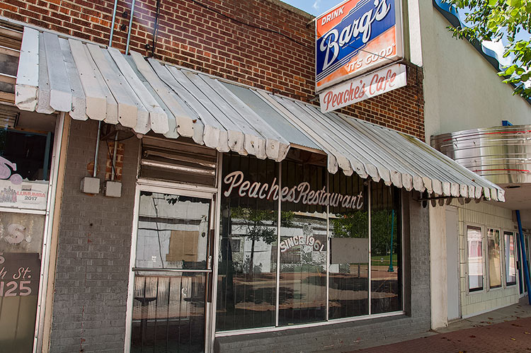 Peaches Cafe, Jackson, Mississippi