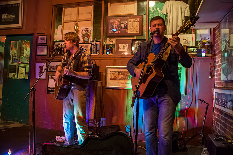 Joshua Steven Ward Duo, Hal & Mal's, Jackson, Mississippi