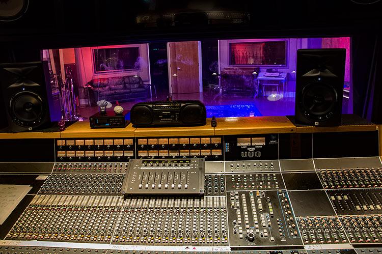 Malaco Records studio, Jackson, Mississippi