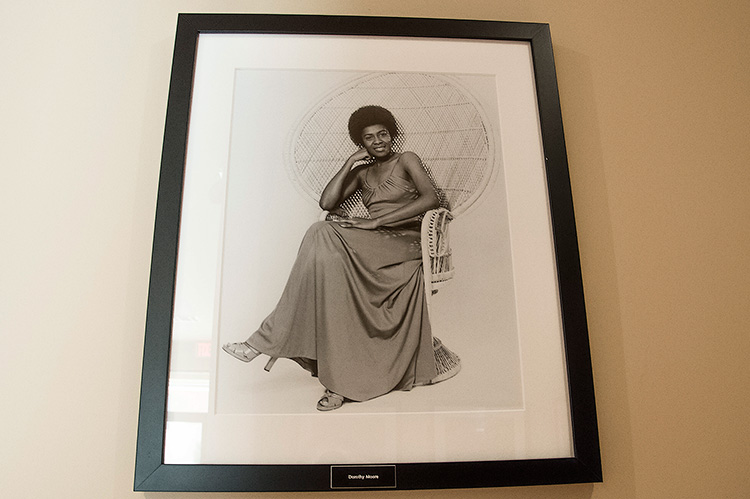 Malaco Records, Dorothy Moore on the wall of fame
