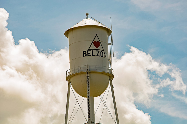 Belzoni water tower, Mississippi