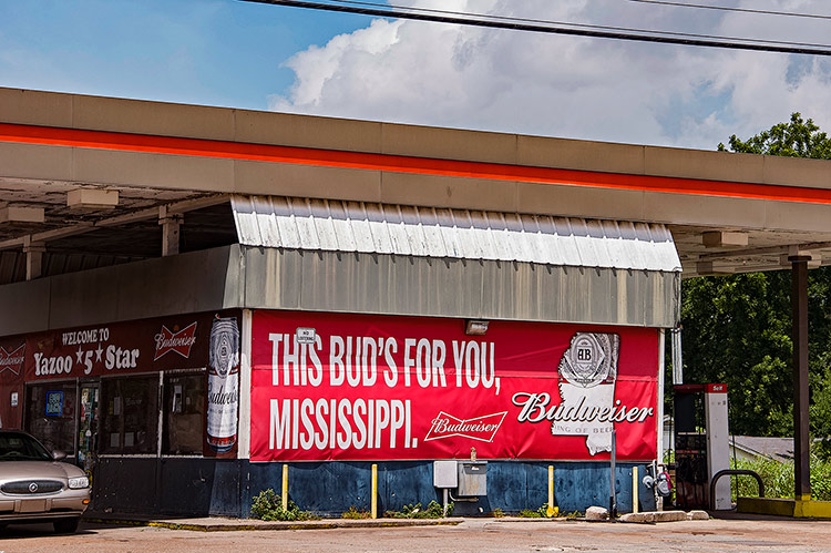 This Bud is for you, Yazoo City, Mississippi