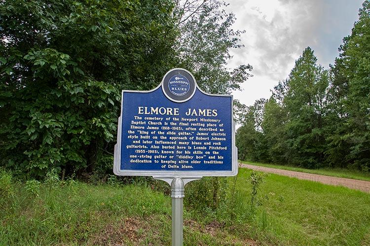 Elmore James marker