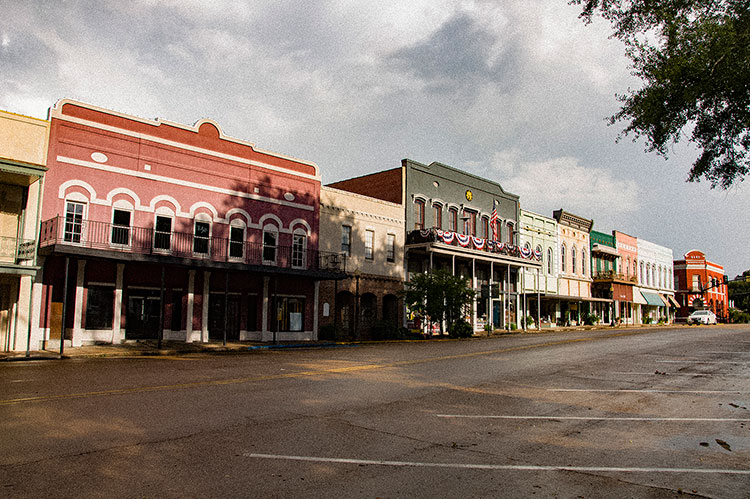 Liberty Street, Historic District, Canton, Mississippi