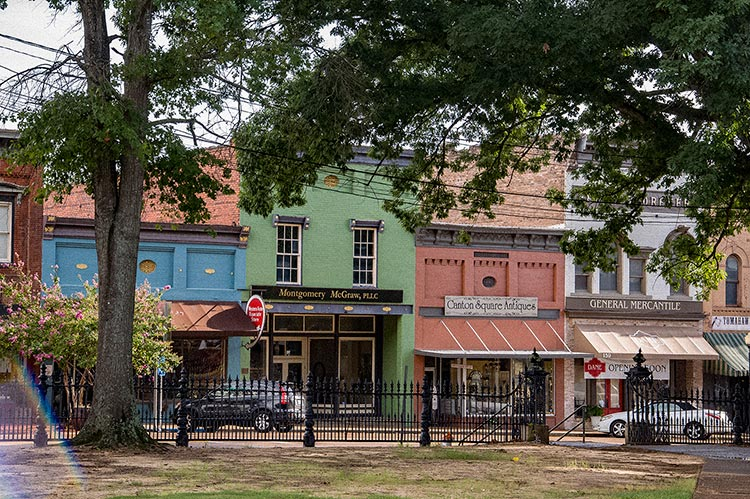 Peace Street, Historic District, Canton, Ms