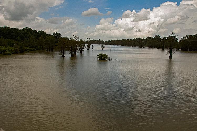 Broad Lake, Yazoo County, Mississippi