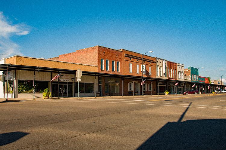 Downtown Aberdeen, Mississippi