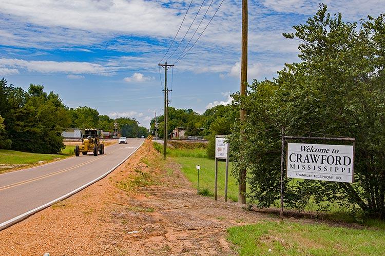 Crawford, East Mississippi
