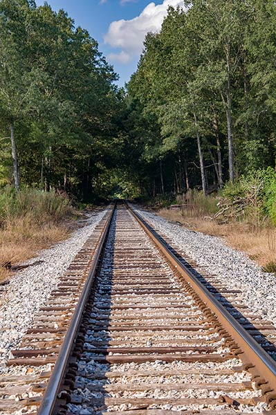 Railroad from White Station to Aberdeen, Ms, on Old Highway 25