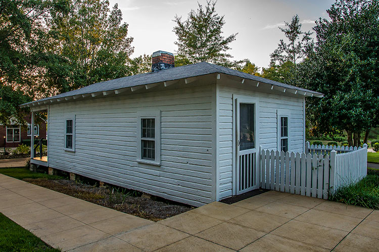 Elvis Presley's birthplace, Tupelo, Mississippi (back of the house)
