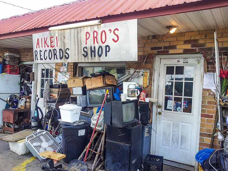 Aikei Pro's Records Shop, Holly Springs, Mississippi Hills