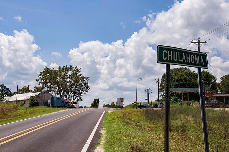Chulahoma, Mississippi Hills