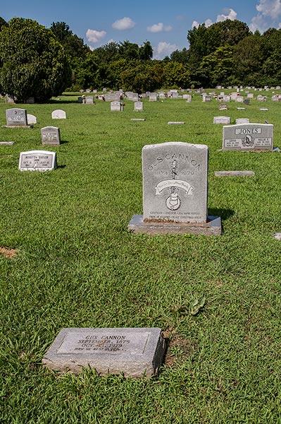 Gus Cannon graves, Greenview Memorial Garden, Nesbit, DeSoto County, Ms