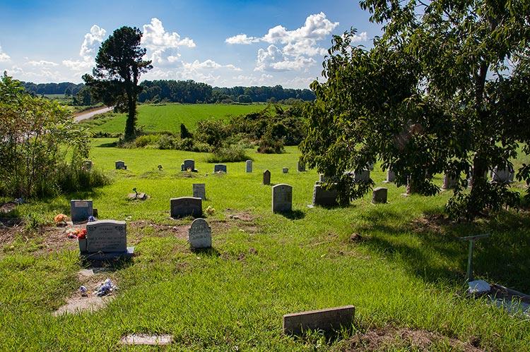 Hammond Hill MB Church Cemetery, Como, Ms