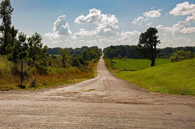Tate-Panola Road, Como, Mississippi Hills