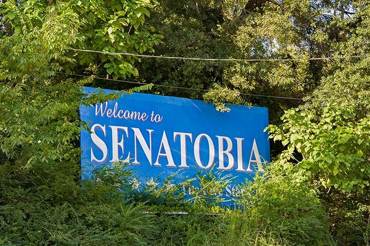 Welcome to Senatobia, Ms